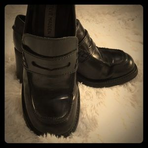 Vintage Madden Chunk Loafers